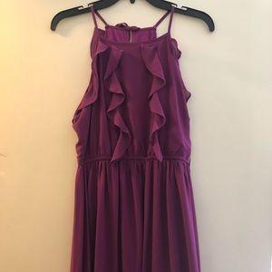 Flouncy Ruffle top dress